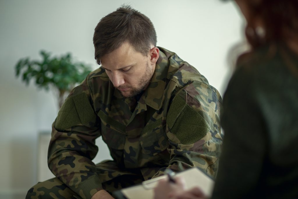 Veterans with PTSD or Other Mental Health Issues